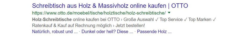 Gute Meta Description